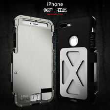 Samsung Galaxy & IPhones Rugged Armor Metal Aluminum Hybrid Shockproof Case
