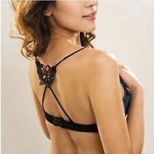 *US seller* 1 pair fashion butterfly Invisible Adjustable Shoulder Bra Straps