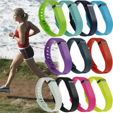 Silicone LARGE L Small S Replacement Wrist Band & Clasp For Fitbit Flex Bracelet