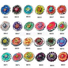 BEYBLADE METAL FUSION MASTERS 4D System BB28-BB89 Battle Fight Kids Funny Toys