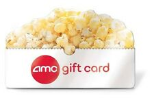 $25   $50   $100 AMC Theatres ® Gift card