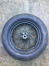 """OEM Indian Chief Scout Sport Scout Kelsey Hayes 16"""" Wheel Hub Goodyear Tire Wow!"""