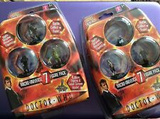 Dr Who MIcro Universe 7 figure pack