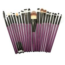 21pcs Powder Foundation Eyeshadow Eyeliner Lip Brush Set Makeup Brushes Tool Kit