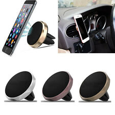 Diamond Magnetic Car Air Vent Holder Stand Mount Cradle For Cell Phones GPS SP