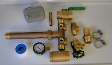 1x11 + UNION + VALVES + ADAPTER Pressure Tank Tee Kit BRASS NO LEAD water well