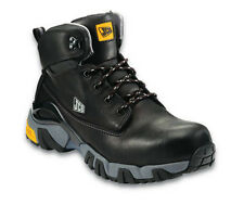 JCB 4X4-B Safety Boots Black With Steel Toe Caps & Midsole Pre Order Mens