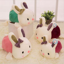 Lovely Rabbit Plush Doll Car Stuffed Pillow Soft Toy Animal Cute Bunny Gift