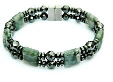 Men's Women's Magnetic Hematite Bracelet Anklet AAA STRONG 5 Gemstone Choices