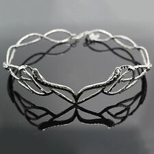 New Wedding Silver Gold Elven Leaf Crown Lord of the Rings Hobbit Head Jewerly
