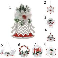 Christmas Tree Ornaments Holiday Party Festival Hanging Decor w/String XMAS Gift