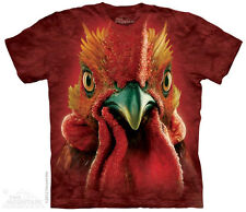 Rooster Head T-Shirt from The Mountain - Sizes Adult S - 5X
