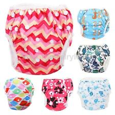 Cartoon Baby Boy Girl Diaper Swimsuit Pants Infant Toddler Trunks Swim Nappies
