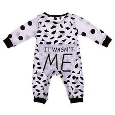 Baby Favour Baby Boy Girl Kids Dot Romper Jumpsuit Bodysuit Clothes Outfits