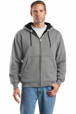 CornerStone CS620 Adult Heavyweight Full-Zip Hooded Sweatshirt w/ Thermal Lining