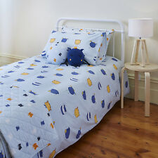 Monsters Boys Single or Double Bed Quilt Cover Set Linens N Things Cotton