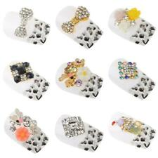 10pc 3D Nail Art Tips Alloy Decoration Bling Crystal Rhinestone Charm Glitters