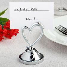 Heart Themed Place Card Holders - Wedding Favors / FC-5374