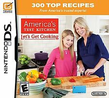America's Test Kitchen: Let's Get Cooking - Nintendo DS, 2010, Factory Sealed!