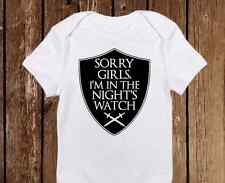 Night's Watch with Shield Game Of Thrones Baby Clothes - Funny Baby Boy Onesies