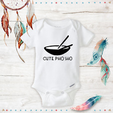 Cute Pho Sho Onesies - Baby Boy or Baby Girl clothes - Newborn - Awesome - Funny