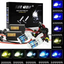 Xenon AC Fast 35W 55W H1 H3 H4 H7 H11 H13 9005 9006 HID Headlight Conversion Kit