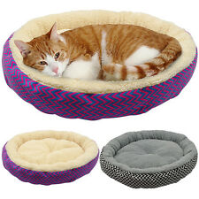 Pet Dog Puppy Cat Bed Soft Fleece Warm House Cushion Nest Mat Pad Kennel Blanket