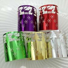 6Pcs Tealight Candle Holders Halloween paper lanterns Christmas Table Decoration