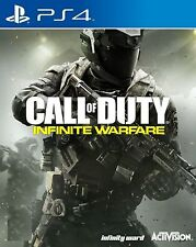 New Sony PS4 Game Call of Duty Infinite Warfare HK version Chinese Subtitle Only