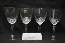 4 Crystal Wine Glasses/Water Goblets by Luminarc