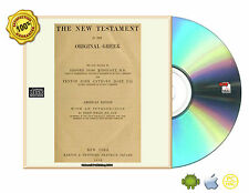 The New Testament in the original Greek With Introduction to American Edition