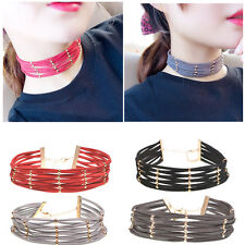New Fashion Multilayer Beads Velvet Necklace Gothic Cross Chocker Collar Jewelry