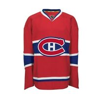 Montreal CANADIENS Reebok AUTHENTIC Officially Licensed NHL EDGE Jersey,