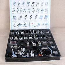 Domestic Sewing Machine Foot Presser Feet Parts Set for Brother Singer Janome