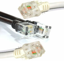 ADSL2+ RJ11 To RJ11 Phone Line Broadband Cable Modem Internet Router 1m-20m Lead