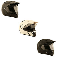 Duchinni D311 Motorcycle Motocross Dual Adventure Helmet | All Colours & Sizes