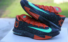 "Nike KD VI 6 ""TEXAS"" Black Orange Green U.S. Mens Size 11 - (599424-002)"