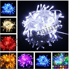 6M 10M 20M 30M LED Christmas Tree Lights Fairy String Xmas Party Wedding Indoor