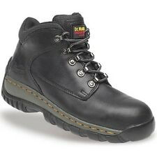 Dr Martens 6904 Tred Chukka Safety Boots Mens Black Leather Steel Toe Cap Pre