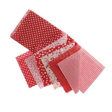 7x Party Decor Cotton Fabric DIY Sewing Bags Purse Doll Clothes Crafts 50*50cm
