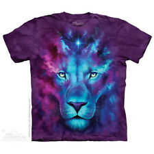 Firstborn T-Shirt by The Mountain.  Big Face Lion Tiger Zoo Animals Sizes S-5X