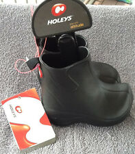 NWT Holeys Kids Black Coastal Boots Sizes 1 6/7 8/9 10/11
