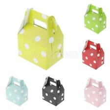 Fashion Candy Treat Paper Boxes Wedding Favor Party Dots Gift Box Pack of 12 New