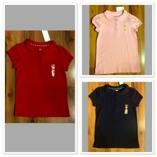 NWT Gymboree Girl Sz 9 SCHOOL UNIFORM Polo Shirt Navy Blue NEW