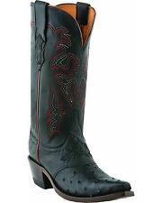 Lucchese Women's Augusta Full-Quill Ostrich Cowgirl Boot Snip Toe - M5603.S54
