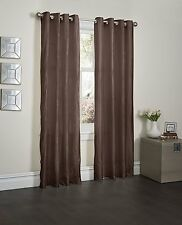 "2 Piece Crushed Grommet Window Curtain Panels 52"" X 84"" Total 104 "" X 84"""