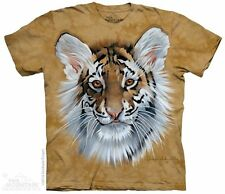 Tiger Cub Kids T-Shirt by The Mountain. Wild Zoo Animals Lion Leopard Youth NEW