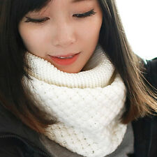 Fashion Womens Winter Shawl Scarf Soft Neck Warmer Wrap Knitting Wool Muffler