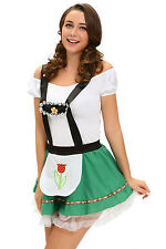 Sexy ladies beer maid wench German Heidi Hoffbrau Lady Oktoberfest Costume dress