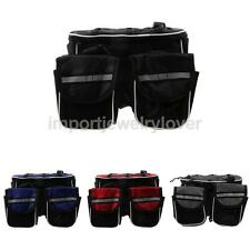Cycling Bike Bicycle Frame Front Pannier Top Tube Double Bag Pouch Holder